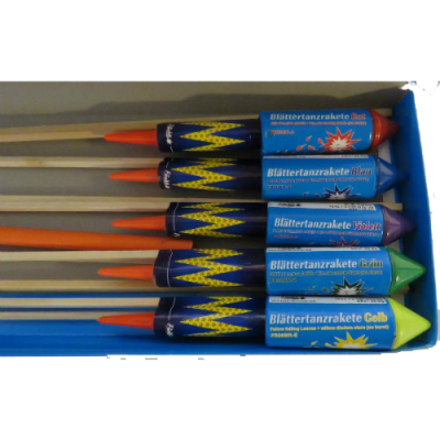 Blattertanz Raketen (10 st)_