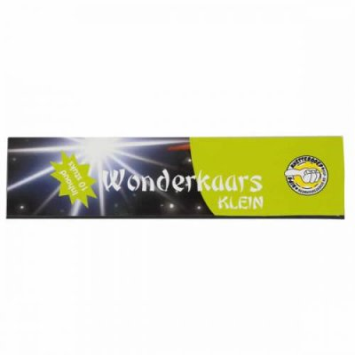 Wonderkaars sterretje Klein