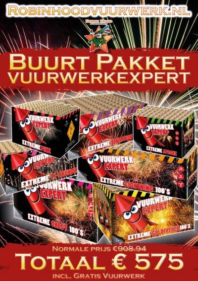 Vuurwerkexpert Buurt Pakket
