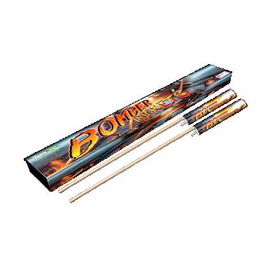 Bomber rockets