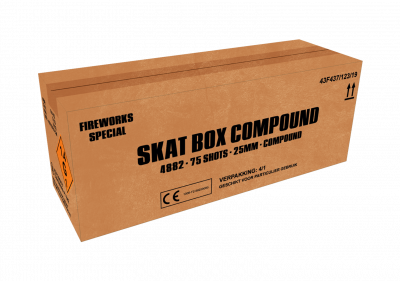 ART. 4882 Skat box, 75 shots compound