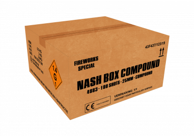 ART. 4883 Nash Box, 100 shots compound