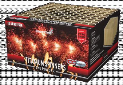 ART. 5115 Titanium Spinner, 100 shots
