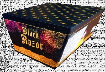 ART. 486 Black Razor, 165 shots waaier cake