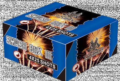 ART. 1307 Smash Box 3 (SB-1003), 4 X 25 shots