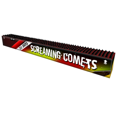 Screaming Comets 300 schots - Volle doos!