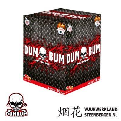 Dum Bum 16's knalbatterij