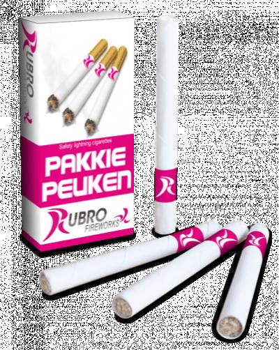 ART. 445 Pakkie Peuken, doosje met aansteeklontjes