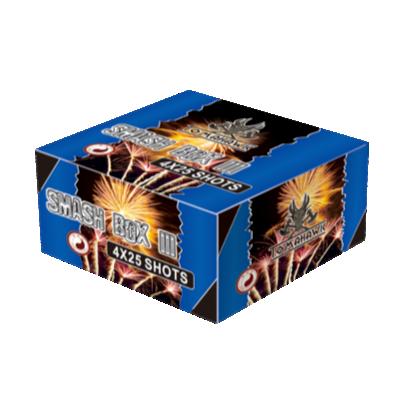 ART. 1307 Smash Box3 (SB-1003), 4 X 25