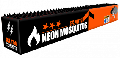 ART. 1759 Neon Mosquitos, 225 shots