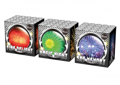 Magic Night & Fire Delight & Sky Memory