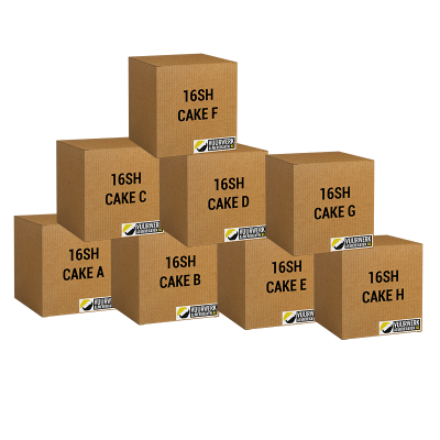 Assortiment 8 cakes
