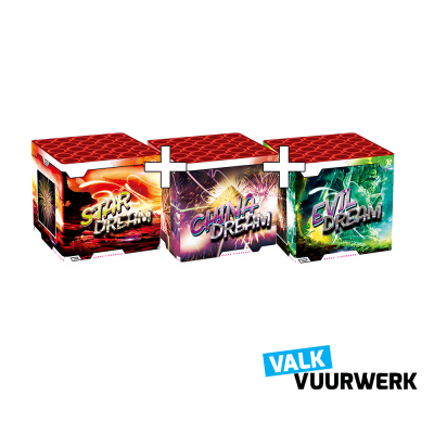 Valk Dream 25 schots 1 + 1 + 1