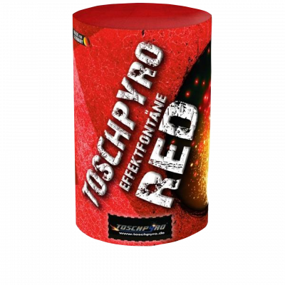 Tosch pyro Effect fontein rood