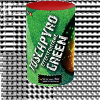 Tosch pyro Effect fontein Groen