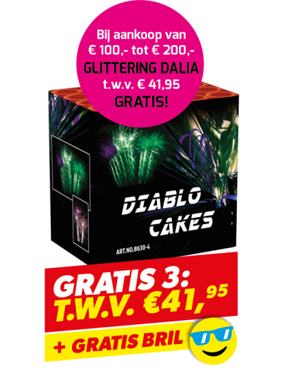 Gratis 3: Diablo + gratis bril
