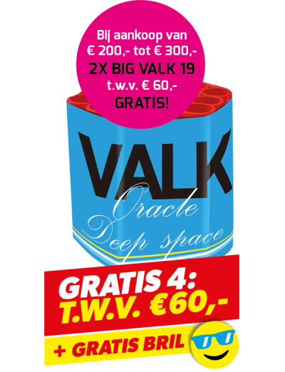 Gratis 4: Big Valk + Bril