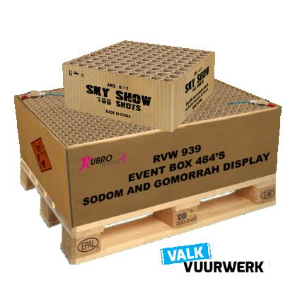 Sodom and Gommorrah 484's + gratis cake
