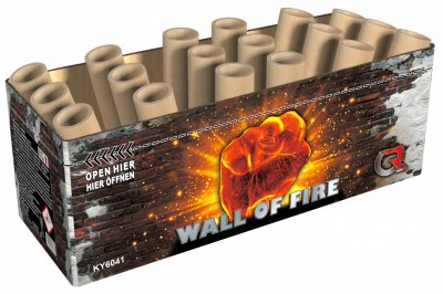ART. 6041 Wall  of Fire compound fonteinen met wisselend effect
