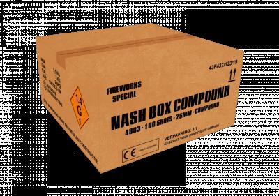 ART. 4883 Nash Box, 100 shots compound