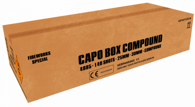 ART. 4885 Capo Box, 140 shots waaierbox compound