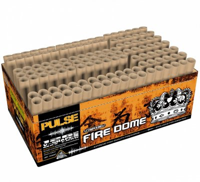 ART. 6047 Fire Dome, 3 x 42 shots V shape / straight