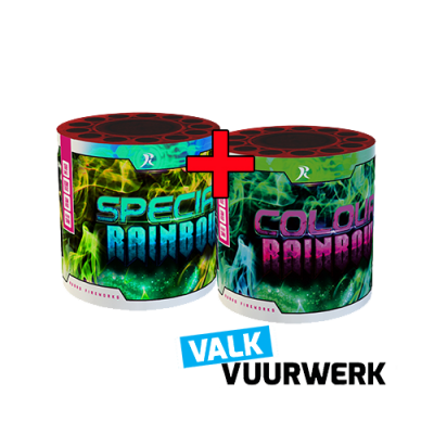 Valk Rainbow Colour + Special 26 schots