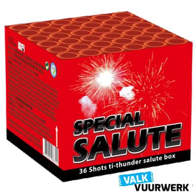 Valk Special Salute Cake Salvo 36 schots
