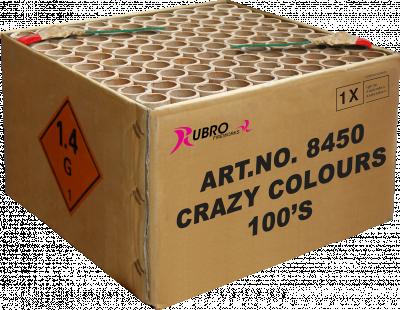 Crazy colours 100 shots
