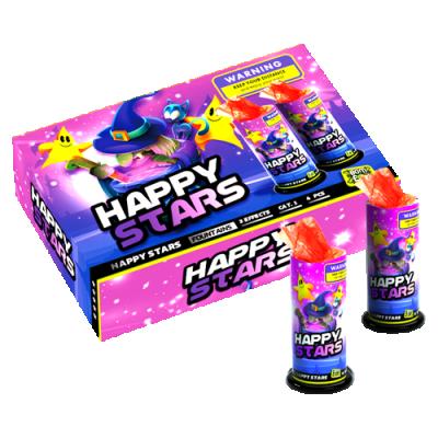 HAPPINESS (HAPPY STARS) 4 stuks *SUPERACTIE!*