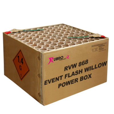 Event Flash Willow Power Box No. 1 - 100's (compound)
