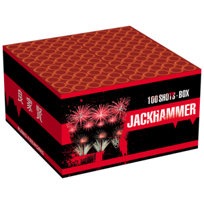 Jack Hammer 100 schots knalcake