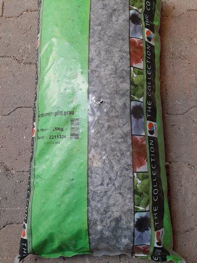 Ardennersplit grijs 25 kg