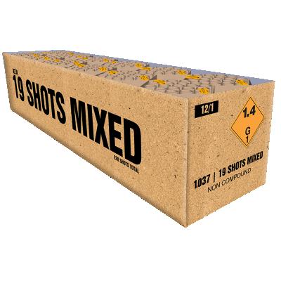 ART. 1037 12 x 19 shots assortiment