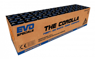 ART. 14904 The Corolla, 100 shots compound