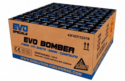 ART. 14908 Evo  Bomber, 144 shots