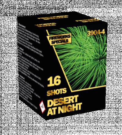 ART. 39044 Desert at night, 16 shots