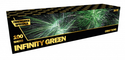 ART. 3905 Infinity Green, 100 shots compound