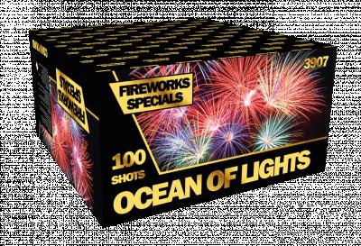 ART. 3907 Ocean of Lights, 100 shots compound