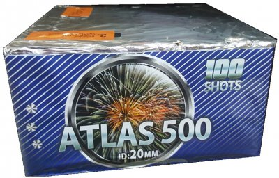 ART. 4881 Atlas 500, 100 shots