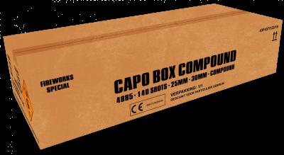 ART. 4885 Capo Box, 140 shots waaierbox compound