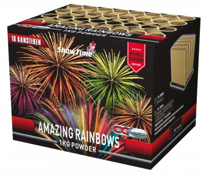 ART. 5113 Amazing Rainbows, 40 shots