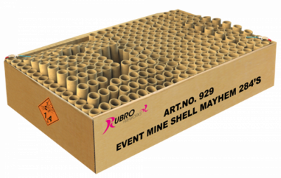ART. 929 Event Mine Shell Mayhem, 284 shots dubbel compound