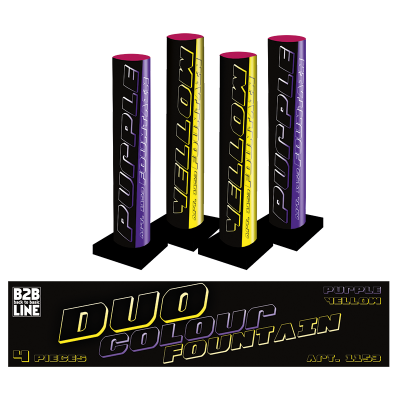 B2B Duo Colour Fontain