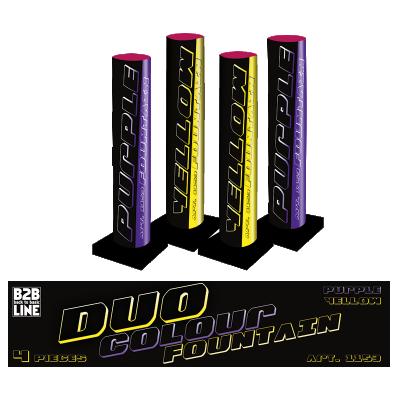 B2B Duo Colour Fountain