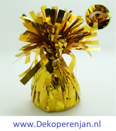 Ballon gewicht goud