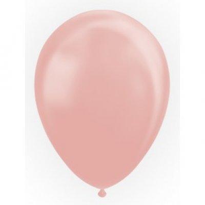 Ballonnen rosé/goud metallic-parelmoer