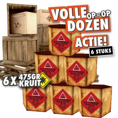 Extreme Salute 2.0 - Volle doos!