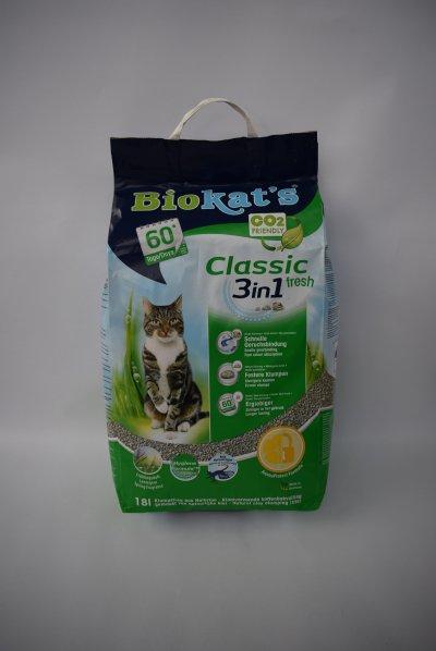Biokats classic fresh kattenbakvulling