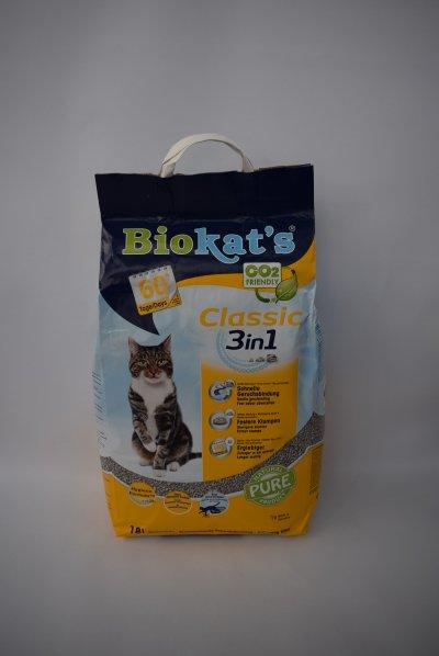 Biokats classic kattenbakvulling
